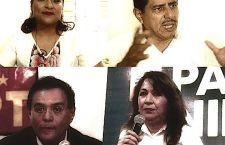 Música para Camaleones: Las candidatas de Tuxtepec: Karina de Salomón, Ángela de Benjamín