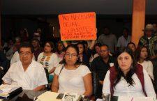 Abandonan su cargo cuatro funcionarios de Huajuapan; protesta ciudadana