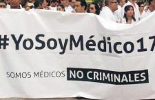 Anuncian paro para el viernes 13 en el sector salud del país por detención de médico y su criminalización