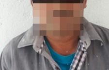 Aseguran a hombre acusado de abuso sexual infantil