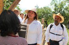 Recoge Juanita Cruz Cruz inquietudes ciudadanas en visitas domiciliarias