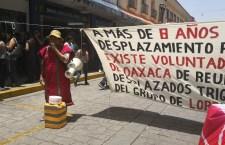 Vuelve la presión y chantaje de los Triquis de Merino, exigen 40 casas