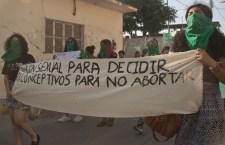 """Mujeres istmeñas se unen a la exigencia de """"Aborto legal, seguro y gratuito"""""""