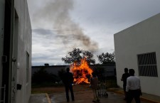 Incinera PGR Oaxaca 437 kilogramos de diferentes drogas