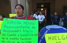 Desplazados Triquis, cautelados por la CIDH, reciben 5.5 mdp en apoyos; Gobierno les paga rentas