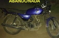 Abandonan motocicletas robadas
