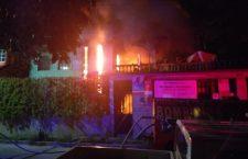 Se incendia vivienda en Huajuapan