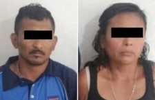 Capturan a pareja por lesionar con arma de fuego a taxista