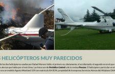Moreno Valle viajó a Guerrero en un helicóptero muy parecido, en 2016, pese a alerta de lluvia