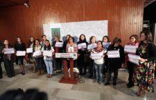 Consejeras del INE piden a Murat, Mafud y Congreso garantizar a mujeres cargos en Presidencias