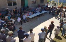 Culmina conflicto agrario; acuerdan repartirse equitativamente la tierra