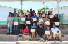 Concluye curso de repostería en el CDC Valerio Trujano; 25 personas podrán auto emplearse | Informativo 6y7