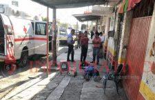 Fallece huajuapense en una calle de Izúcar de Matamoros, Puebla
