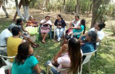 Mujeres del Istmo rechazan tren transístmico