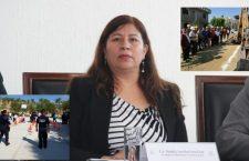 Juanita Cruz anuncia que se realizará informe cuatrimestral de gobierno en agencias de Huajuapan