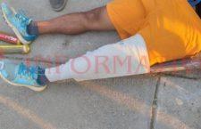 Sufre aparente fractura al jugar básquetbol