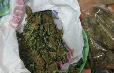 Llevaba dos maletas con marihuana; es vinculado a proceso