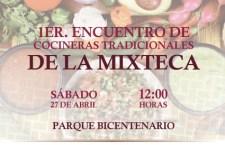 """El próximo sábado se realizará el primer """"Encuentro de Cocineras Tradicionales de la Mixteca"""""""