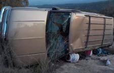 Muere hombre en volcadura; aseguran a conductor como aparente responsable   Informativo 6y7