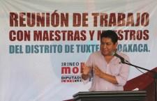 Hubo cambios en el dictamen y en leyes secundarias de reforma educativa se harán valer derechos de maestros: Molina Espinoza