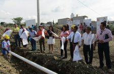 Presidenta Juanita Cruz abanderó inicio de obras básicas en Huajuapan