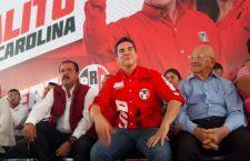 Alejandro Moreno canta la victoria del PRI en 2020 y 2021 frente a Morena