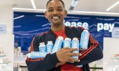 #ECOLOGÍA   Will Smith lanzó su propia marca de agua embotellada