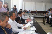 Concejales aprueban obras de agua potable y drenaje sanitario