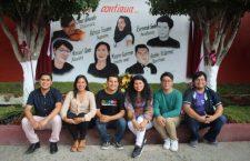 Plasman en casa de cultura, rostros de artistas destacados de Huajuapan
