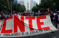CNTE exigirá en Congreso federal abrogación total de reforma educativa