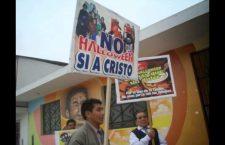 Can rezos y alabanzas, católicos marcharán contra Halloween en Guanajuato