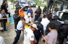 Policía Estatal busca justicia por muerte de agente en Xanica