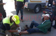 Camión de volteo atropella a peatón en Tlaxiaco