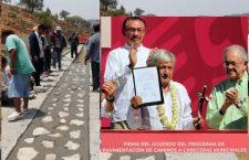 AMLO retomará sus visitas a Oaxaca; inaugurará caminos construidos por la gente