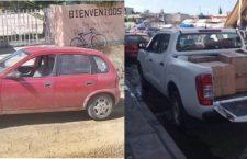 """""""Desaparecen"""" otros dos vehículos en Huajuapan"""