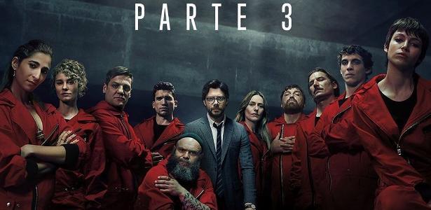 EUA – A 3ª temporada de La Casa de Papel é apresentada antes de estreia na Netflix