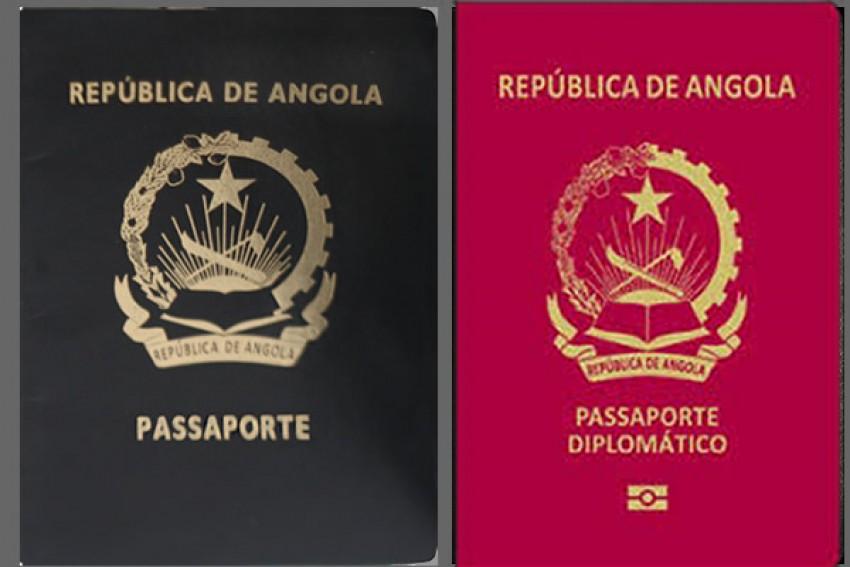 Há 14 mil angolanos com passaporte diplomático