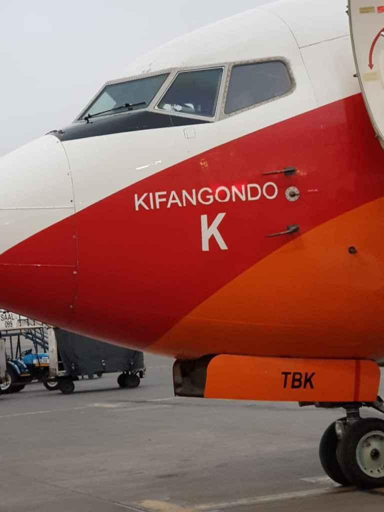 TAAG - Avião da TAAG