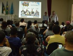 Fotos: Reunião sobre o São João com Prefeito Dr. Fernando, secretário de Cultura Marcelo e comerciantes