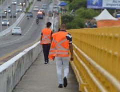 Sentinelas de Cristo vão deixar Ponte Newton Navarro no dia 5 de julho
