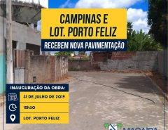 Sexta inauguração de pavimentação em Macaíba neste mês de julho de 2019!