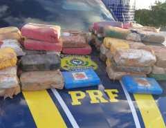 Motorista é preso com 42k de drogas em Mossoró.