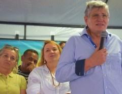 Macaíba: Prefeito inaugura pavimentação nas Campinas e no Porto Feliz
