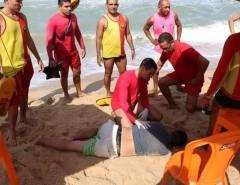 Banhista sob efeito de bebida alcoólica se afoga e é salvo pelos bombeiros em Natal