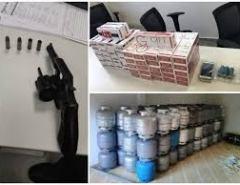 Investigados por ataques a carros-fortes e bancos são presos no RN