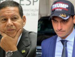 Encontro Brasil-Alemanha traz Mourão e Eduardo Bolsonaro a Natal