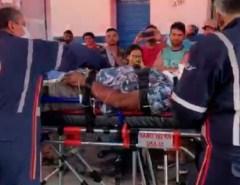 Homem é atacado com golpes de foice após discussão de trânsito no interior do RN