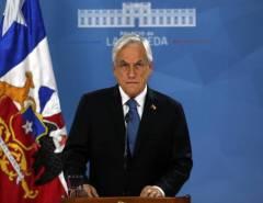 """Presidente Piñera: """"Pedi a todos os ministros que coloquem seus cargos à disposição"""""""