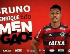 MEMÓRIA: Bruno Henrique já foi recusado por quase 20 clubes, inclusive pelo América de Natal, diz site