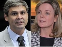 O AMOR ESTÁ NO AR: Gleisi Hoffmann está namorando com ex-senador Lindbergh Farias